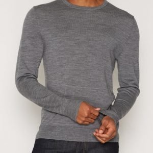 Premium by Jack & Jones Jprmark Knit Crew Neck Noos Pusero Harmaa