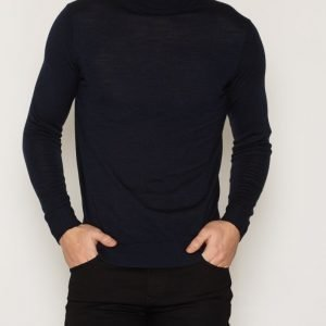 Premium by Jack & Jones Jprmark Knit Roll Neck Pusero Tummansininen