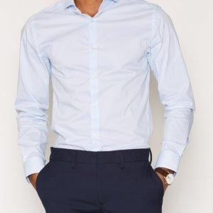 Premium by Jack & Jones Jprmichael Shirt L/S Noos Kauluspaita Sininen