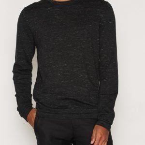 Premium by Jack & Jones Jprmike Knit Crew Neck Pusero Musta