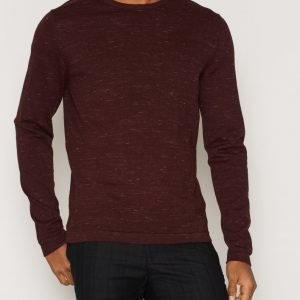 Premium by Jack & Jones Jprmike Knit Crew Neck Pusero Tummanvioletti