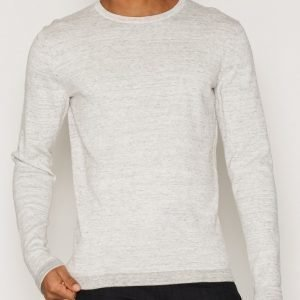 Premium by Jack & Jones Jprmike Knit Crew Neck Pusero Vaaleanharmaa