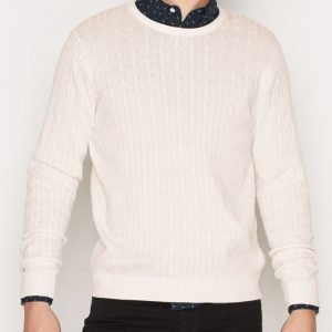 Premium by Jack & Jones Jprnewcarlson Knit Crew Neck Pusero Offwhite