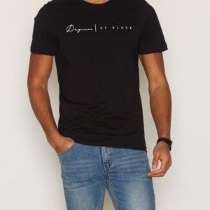 Premium by Jack & Jones Jprnox Tee Ss Crew Neck T-paita Musta