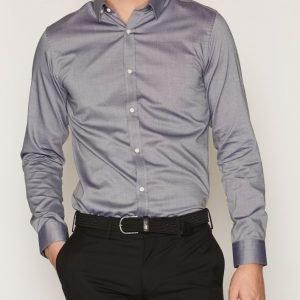 Premium by Jack & Jones Jprphantom Shirt L/S Noos Kauluspaita Harmaa