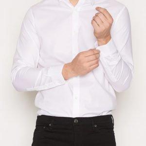 Premium by Jack & Jones Jprphantom Shirt L/S Noos Kauluspaita Valkoinen