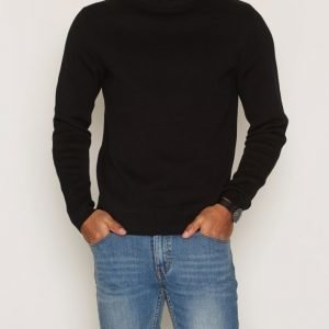 Premium by Jack & Jones Jprphilip Knit Crew Neck Pusero Musta