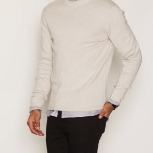 Premium by Jack & Jones Jprphilip Knit Crew Neck Pusero Vaaleanharmaa