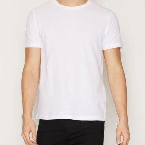 Premium by Jack & Jones Jprroon Tee Ss Crew Neck T-paita Valkoinen