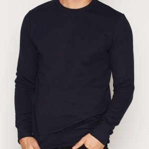 Premium by Jack & Jones Jprsimon Sweat Ls Crew Neck Pusero Tummansininen