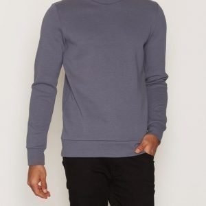 Premium by Jack & Jones Jprsimon Sweat Ls Crew Neck Pusero Tummanvioletti