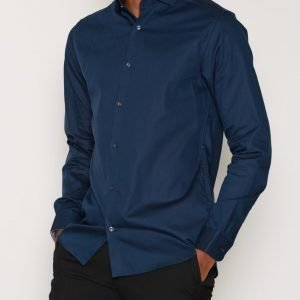Premium by Jack & Jones Jprtim Shirt L/S Noos Kauluspaita Tummansininen