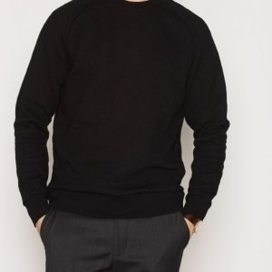 Premium by Jack & Jones Jprtom Sweat Crew Neck Pusero Musta