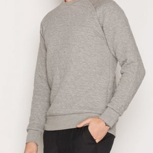 Premium by Jack & Jones Jprtom Sweat Crew Neck Pusero Vaaleanharmaa