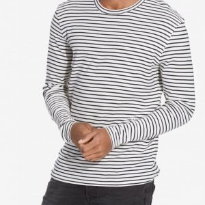 Premium by Jack & Jones Jprwind Sweat Ls Crew Neck Pusero Valkoinen