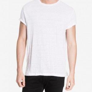 Premium by Jack & Jones jjprDAVE Tee Ss Crew Neck T-paita Valkoinen