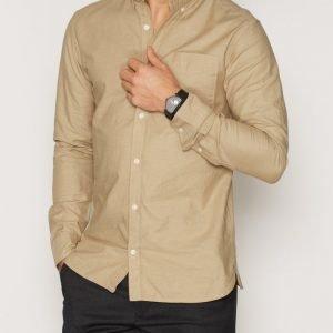 Premium by Jack & Jones jjprDAVID Shirt L/S Noos Kauluspaita Khaki