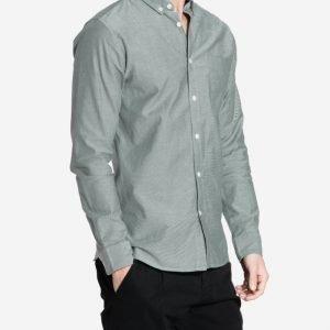 Premium by Jack & Jones jjprDAVID Shirt L/S Noos Kauluspaita Tummanvihreä