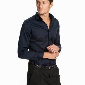 Premium by Jack & Jones jjprPARMA Shirt L/S Noos T-paita Tummansininen