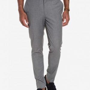 Premium by Jack & Jones jjprROY Trouser BOS10 Noos Puvunhousut Tummanharmaa