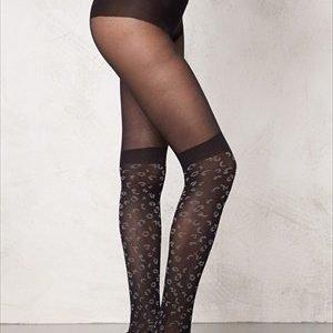 Pretty Polly Animal Secret Sock Black Mix
