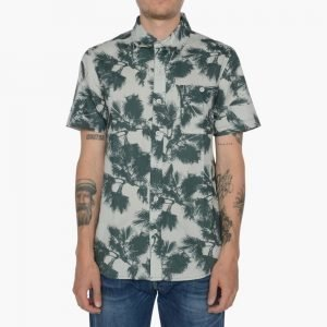 Primitive Apparel Normandie Palms Short Sleeve Button Up