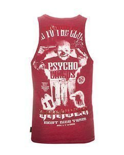 Psycho Circus Tank Red