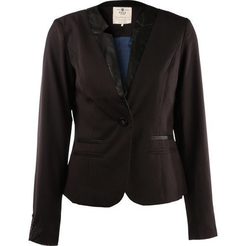 Pulz Jeans Addie Blazer Woman Black