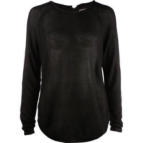 Pulz Jeans Jean L/S Blouse Woman Black