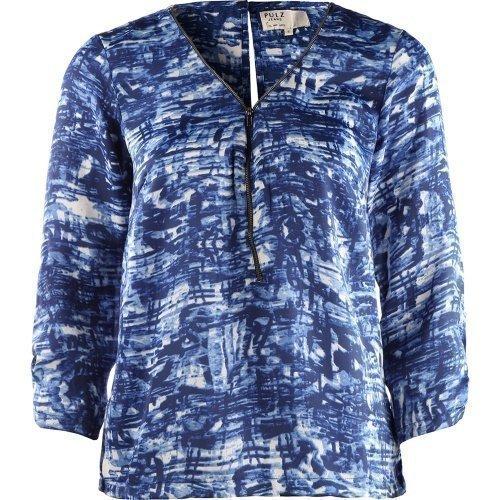 Pulz Jeans Petrea 3/4 SL. Blouse Woman Blue