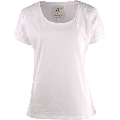 Pulz Sebnem Wing sl. Blouse Optical white