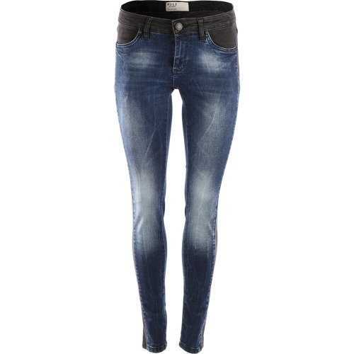 Pulz True Skinny jeans Blue Denim
