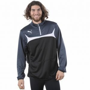 Puma 1/4 Zip Training Top Pusero Musta