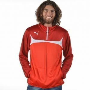 Puma 1/4 Zip Training Top Pusero Punainen