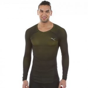 Puma Active Power Arms Ls Treenipaita Musta