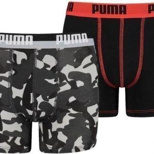 Puma Alushousut 2 paria Camo White Navy