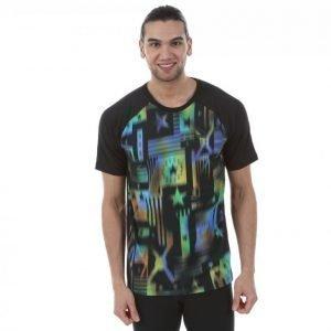 Puma Evo Running Aop Tee T-paita Värikäs