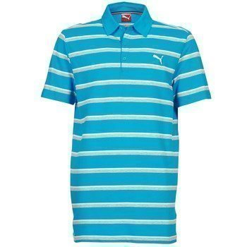 Puma FUN STRIPE PIQUE POLO lyhythihainen poolopaita
