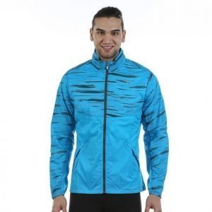 Puma Graphic Woven Jacket Tuulitakki Sininen