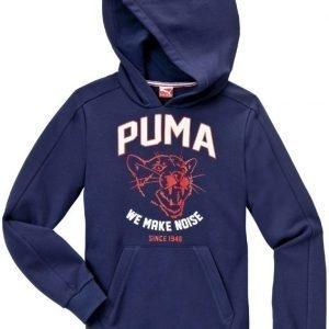 Puma Huppari Style Athl Hooded SW Peacoat