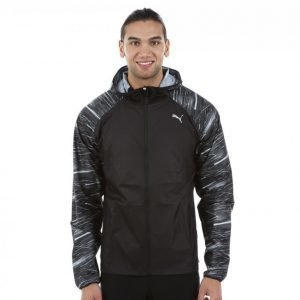 Puma Night Cat Jacket Treenitakki Musta