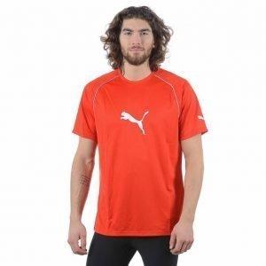 Puma Ringer Jersey T-paita Punainen / Valkoinen