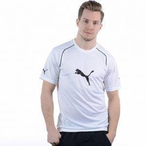 Puma Ringer Jersey T-paita Valkoinen / Musta