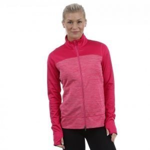 Puma W Colorblock Full Zip Jacket Villapaita Ljus Rosa