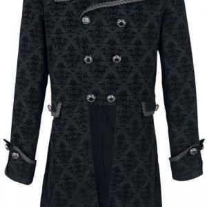 Punk Rave Baroque Coat Pitkä Talvitakki