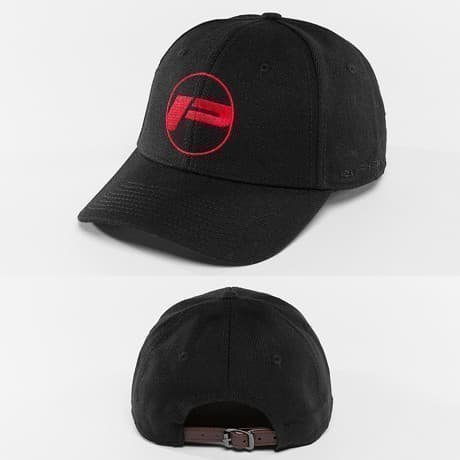 Pusher Apparel Snapback Lippis Musta