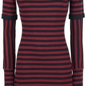 Pussy Deluxe Knit Stripe Dress Mekko