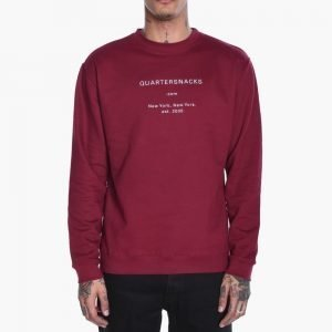 Quartersnacks Dot Com Crewneck