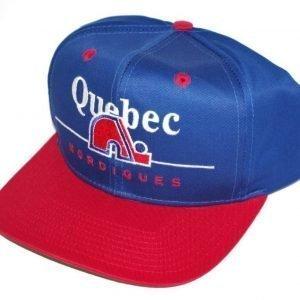 Quebeck Nordiques Cap -NHL keps -