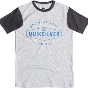Quiksilver T-paita Dr no Athletic Harmaa